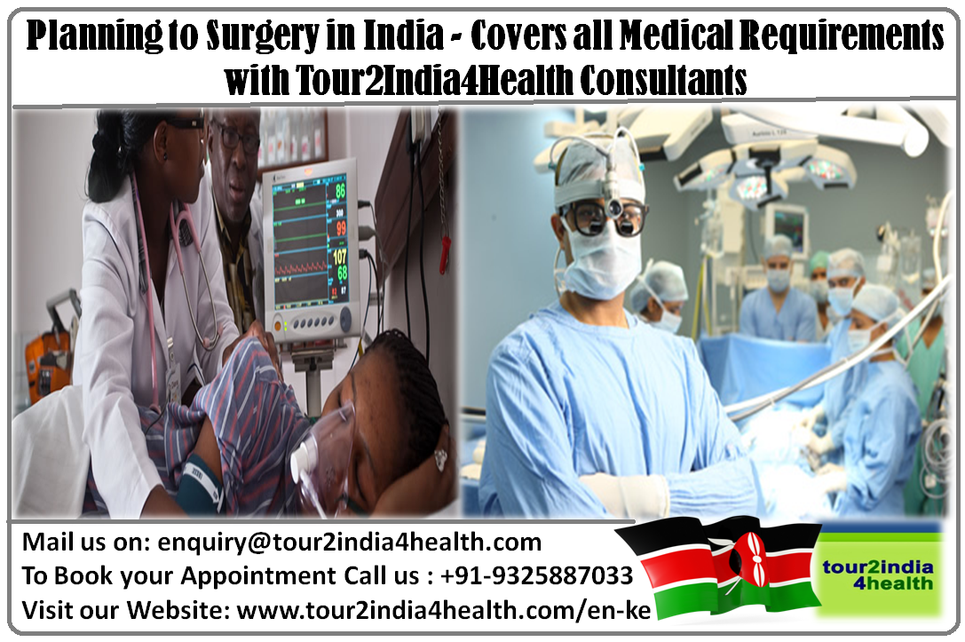 Tour2India4Health Consultants that assists the African citizens to plan the best price surgery in India