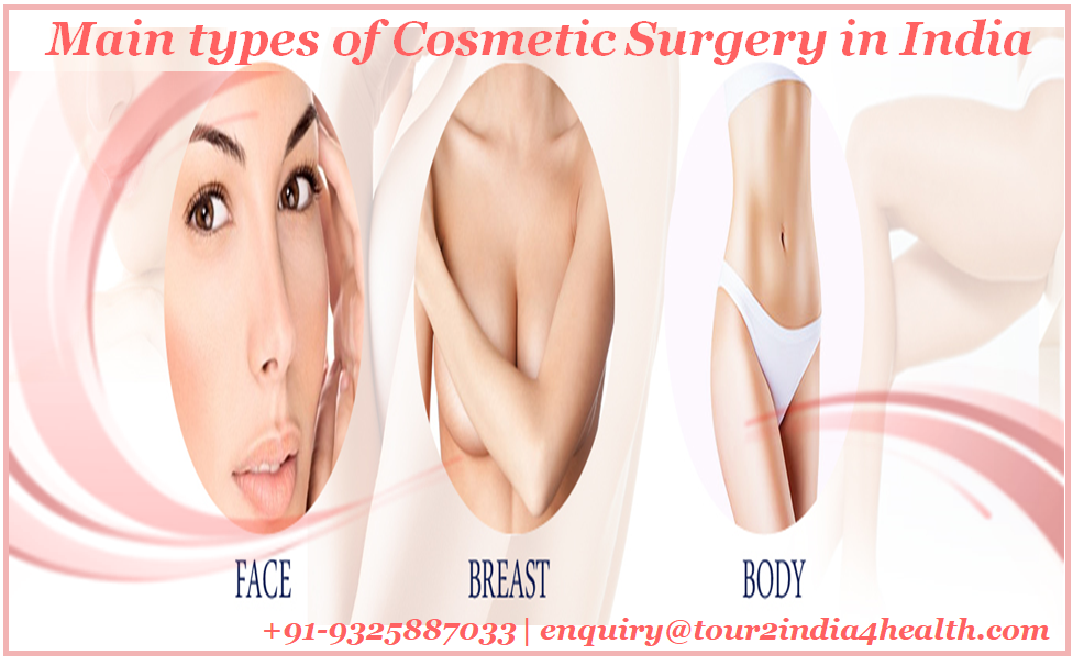 Main types of Cosmetic Surgery in India