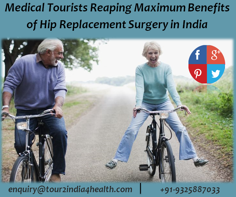 how much does it cost for hip replacement surgery in india