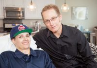 stem cell therapy cure for Paralyzed Patient with his father